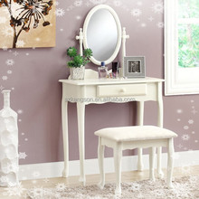 wooden dressing table with mirror Classic Style Table Dress