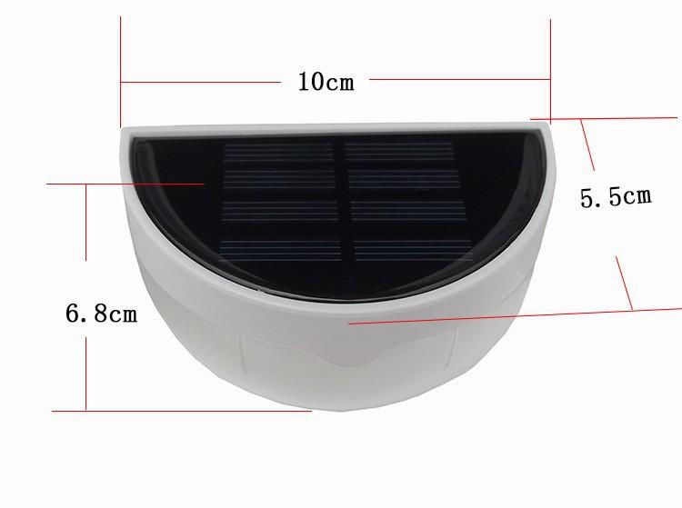 Light Control 6 LED Solar Power Lamp Garden Decoration Light Porch Lantern For Home Garden LED Solar Light Outdoor Lighting