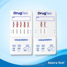 Drugs of abuse urine multi drug dip kit rapid test