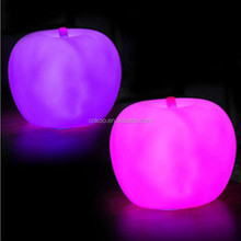 christmas led light best decoration apple night light flashing up best gift for christmas