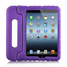Children shockproof foam case cover for apple ipad 5 ipad air with handle