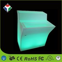 Color Changing Light Up decoration LED Bar Counter Table Furniture