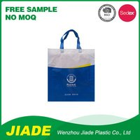 Tote promotional non woven bag/factory export non woven bag/shopping zipper non woven bag