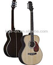 guitarra acústica de madera de rosa