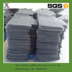 Top grade best sell pvc car mat rubber car boot mat