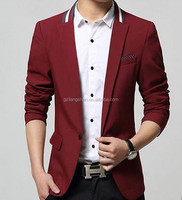 Factory Price Men's Slim Fit Formal Casual Suit Blazer For Winter Branded Blazers For Men