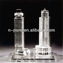 Crystal Model of Famous Buildings