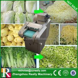 Fully stainless steel high efficiency industrial vegetable slicer shredder dicer chopper