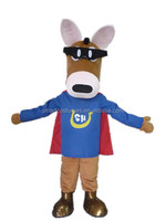 Wholesale horse mascot costume EVA plush cheap anime cosplay costume for adult