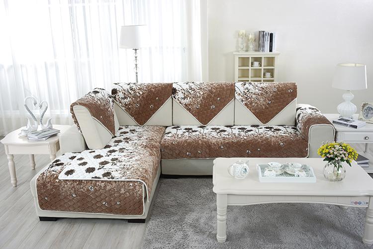 faux fourrure housses de canap s canap t te couvre pr t fait housses de canap s housse canap. Black Bedroom Furniture Sets. Home Design Ideas