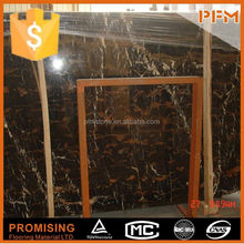 PFM Chinese xiamen luxury marble dark wood floors with light cabinets