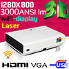 Professional HDMI DLP projector full HD 3D for Home Use