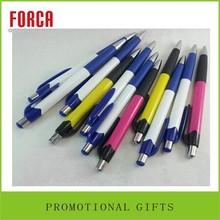 cheap promotional item plastic ballpoint white custom free sample oem ball pen