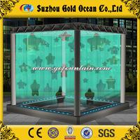 Public Square Water Cube Digital Water Curtain