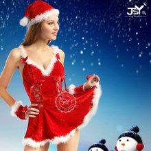 2015 vestido de las mujeres de la Navidad para la fiesta de Navidad