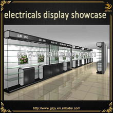 glass display cabinet and display shelf for retail and supermarket shelf