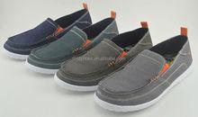 classical item sample of slip on canvas men shoe