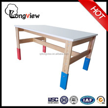 Adjustable solid wooden dinning table,Drawing Drafting Table Adjustable Design Architect Study Desk