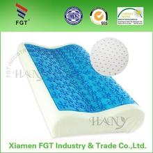 comfortable adult gel memory foam pillow for good sleep