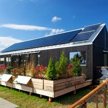 Hanergy off-grid 5kw home solar system with sunpower solar panels for sale