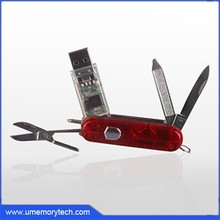 Swiss design Army Knife usb flash drive cool gifts metal pen drive metal badge usb memory disk