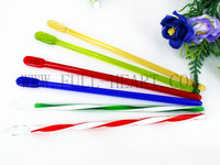 SET OF 6 GLASS STIR STICK/SWIZZLE HAND CRAFTED BARBARE FW50053