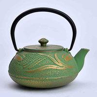 chinese cast enamel tea kettle & teapot