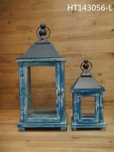 india hanging blue christma wholesale oil wooden lantern