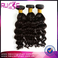 Hot Sale 5A Deep Body wave 22 inches Color 1B free shedding and tangling wholesale 100% virgin raw unprocessed virgin indian hai