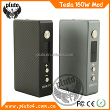 2015 hot selling vaporizer metal TC box mod, metal TC 60w vaporizer 18650 mod patent original mod