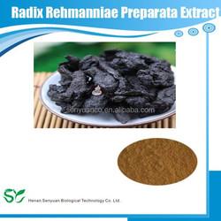 GMP & Kosher manufacturer supply 100% natural Radix Rehmanniae Preparata P.E.