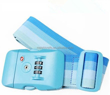 TSA Accepted 3-Dial LOCK + Luggage Suitcase Travel PP Strap Belt TSA luggage belt