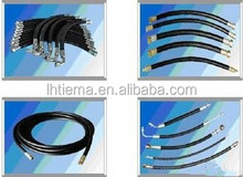 flexible rubber hose pipe / low price hydraulic hose / hydraulic rubber hose pipe