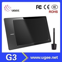 "UGEE G3 Art Graphics Digital drawing Tablet With Digital Pen USB interface Big 9""x6"" Active Area"