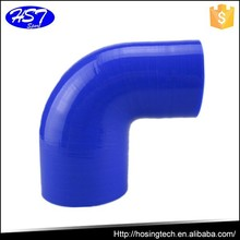 Car renovation silicone hose 83mm-76mm 90 degree bend reducers