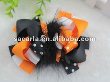 2015 New products boutique hair bows ,hair clip accessories