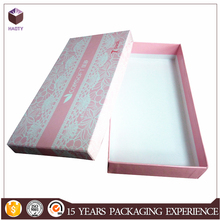 Pink apparel dress boxes