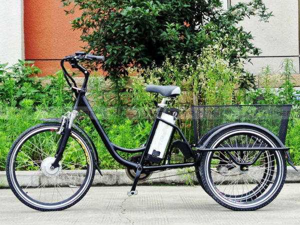250w alloy frame electric tricycle 3 wheel electric bike. Black Bedroom Furniture Sets. Home Design Ideas