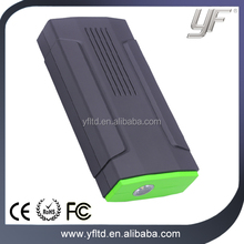 Portable Car Jump Starter and Power Bank with LED Flashlight and Dual USB Charging Ports 500A Peak Current Car Jump Starter