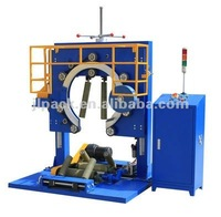 steel band packing machine with stretch film,wire bending wrapping machine