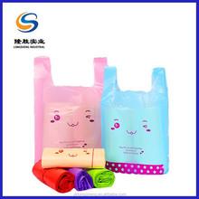 customized thin market shopping plastic bag