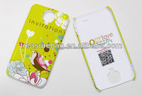 sublimation mobile phone cover for samsung S4