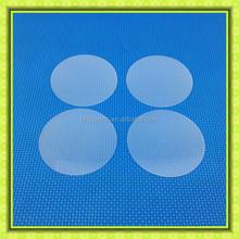 Superb curved Quartz Plate/Quartz Round Glass Plate