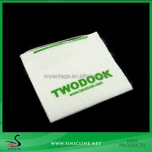 Sinicline OEM Brand Label with Logo Printed on Cotton Tape