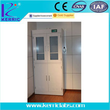 steel storage cabinet with ventilation system