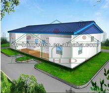 real estate prefab house easy assembly prefab house