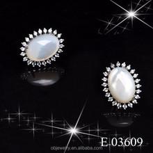Ali express Gemstone earring cubic zirconia