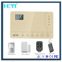 LCD display wireless home security alarm system! cheap electronic security system