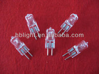 G6.35 bulb 75w Halogen lamp 24v with CE certification