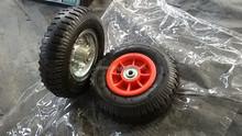 "8"" USA popular hand trolley pneumatic wheel"